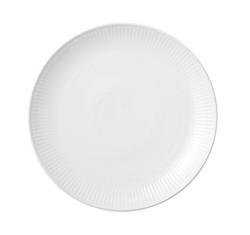 Royal Copenhagen  White Fluted Dessert Plate Coupe $35.00