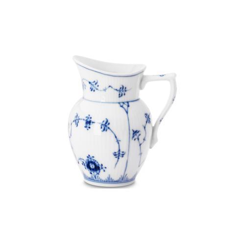 Royal Copenhagen  Blue Fluted Plain Creamer $145.00
