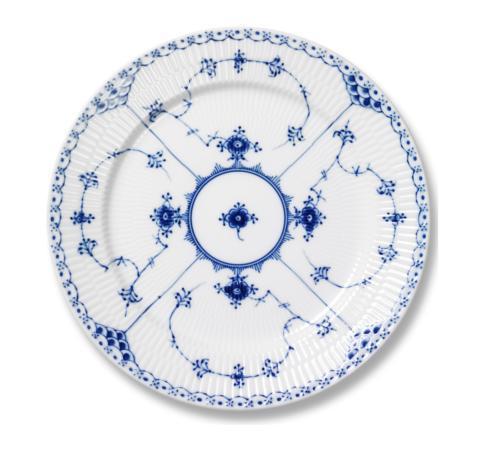 Royal Copenhagen  Blue Fluted Half Lace Salad Plate $160.00