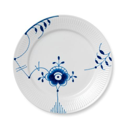 Royal Copenhagen  Blue Fluted Mega Salad Plate #6 $105.00