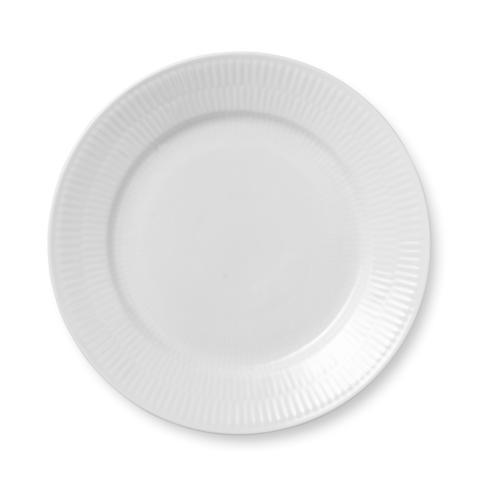 Royal Copenhagen  White Fluted Salad Plate $40.00