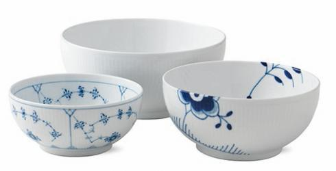 Royal Copenhagen  Gifts with History Bowls S/3 $350.00