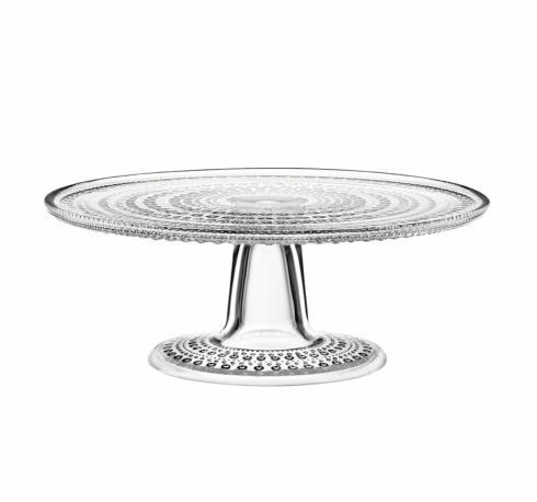 """$85.00 Cake Stand Clear 9.5"""""""