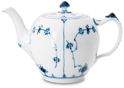 Royal Copenhagen  Blue Fluted Plain Teapot $275.00