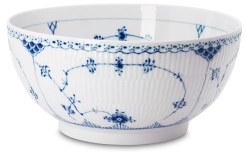 Royal Copenhagen  Blue Fluted Half Lace Bowl Large $350.00