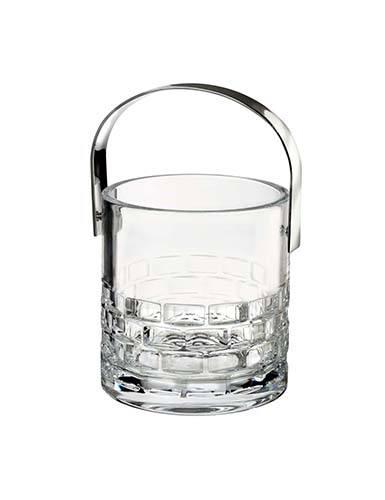 Rogaska Crystal  Maison Ice Bucket w/ Tongs $175.00
