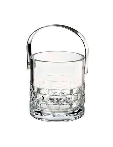 Rogaska Crystal  Maison Ice Bucket w/ Tongs $175.00