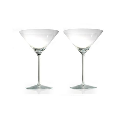 Rogaska Crystal  Expert Martini Pair $60.00
