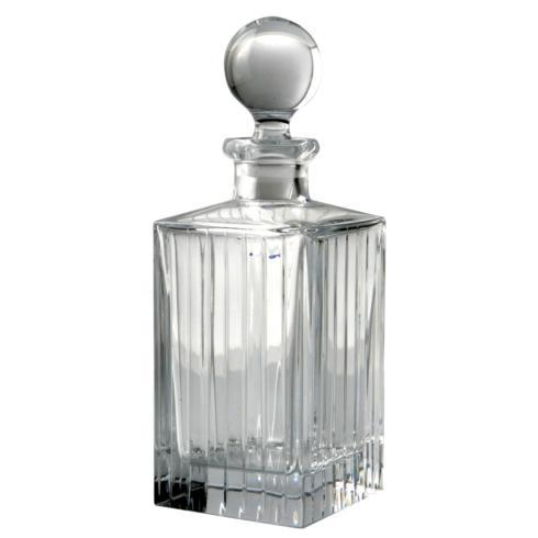 Rogaska Crystal  Avenue Decanter Square $130.00