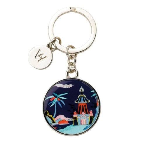 $24.95 Key Ring Blue Pagoda