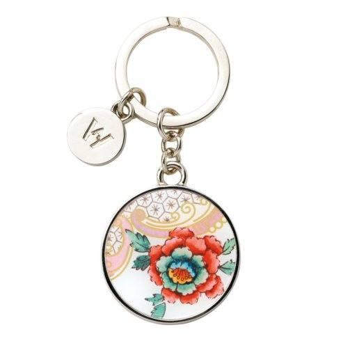 Key Ring Rococo Flowers