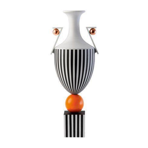 Tall Vase on Orange Sphere 19.7 (LTD 15)