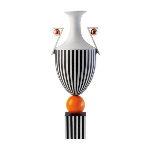 $16,000.00 Tall Vase on Orange Sphere 19.7 (LTD 15)