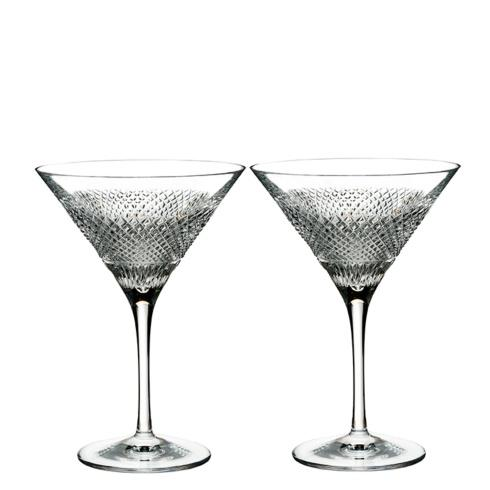 Waterford  Diamond Line Martini Set/2 $160.00
