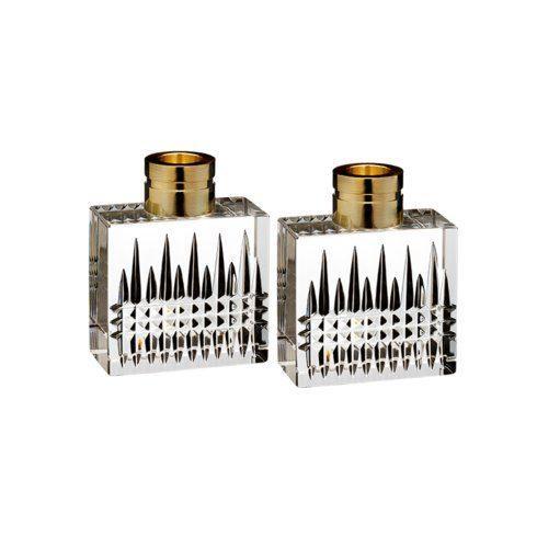 $195.00 Lismore Diamond Candlestick Pair