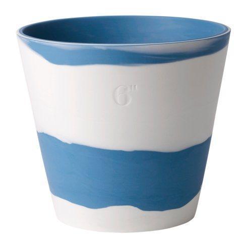 6 (Blue & White)