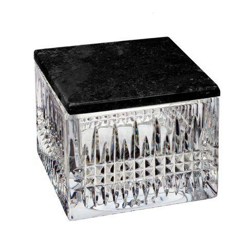 Lismore Diamond Covered Box (With Marble Lid)