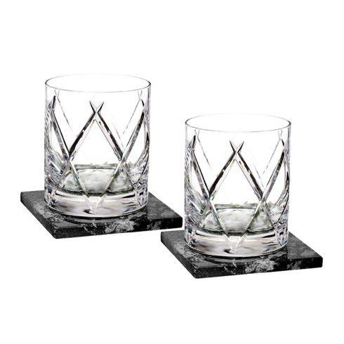 $220.00 DOF Set/2 With Marble Coasters