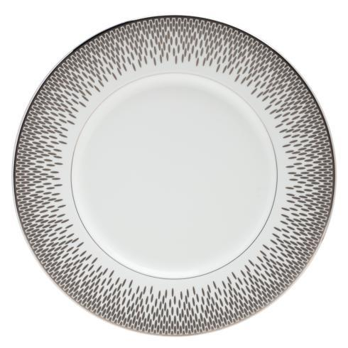 "$56.00 Accent Salad Plate 9"" Grey"