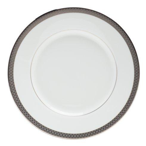 "$20.00 Bread & Butter Plate 6"" Grey"