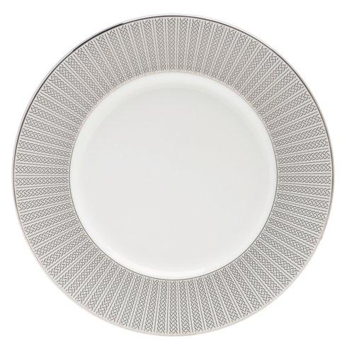 "$70.00 Accent Salad Plate 9"" Platinum"