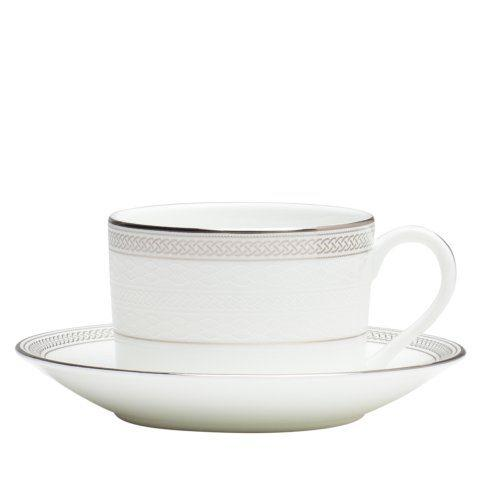Teacup & Saucer Set Platinum