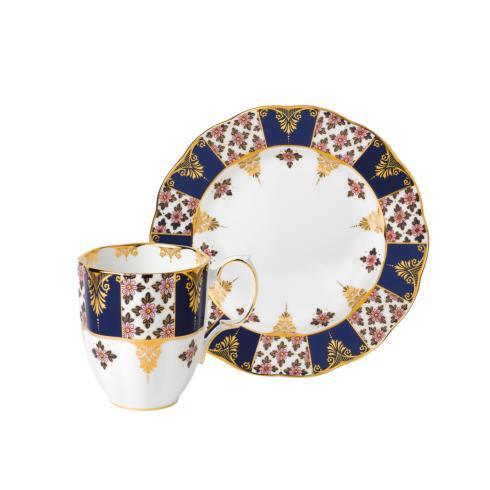 """$64.99  1900 2-Piece Mug & Plate 8"""" Set"""