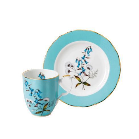 """$56.00  1950 2-Piece Mug & Plate 8"""" Set"""