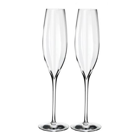 Waterford  Elegance Optic Classic Champagne Flute Set/2 $80.00