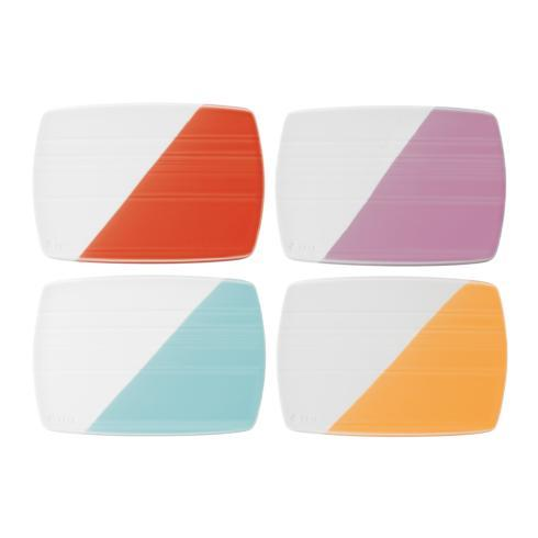 """$37.60 Cheese Boards 7.8"""" Set of 4"""
