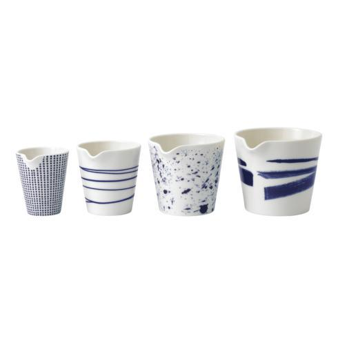 Royal Doulton  Pacific Mixed Patterns Nesting Jug Set of 4 $24.99