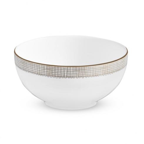 Vera Wang  Gilded Weave Soup/Cereal Bowl $30.00