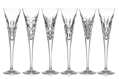 Waterford  Heritage  Toasting Flute Set of 6  $350.00