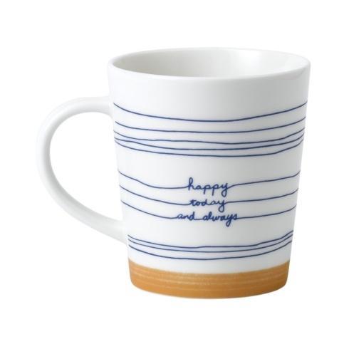 $14.00 Happy Today Mug 16.5 oz.