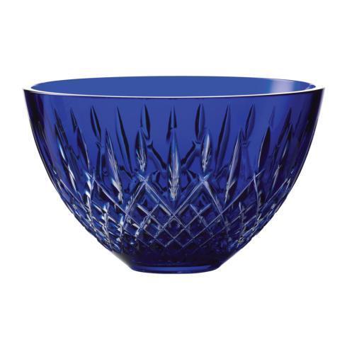 "Waterford  Treasures of the Sea Araglin Bowl Blue 8""  $400.00"