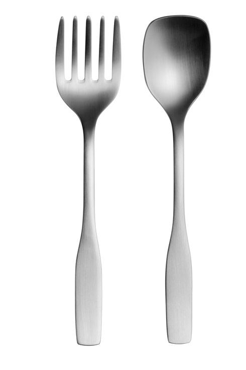 $78.00 2 Pc Stainless Steel Serving Set