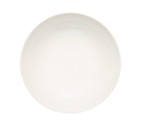 "$32.00 Tiimi Deep Plate 7.75"" White"