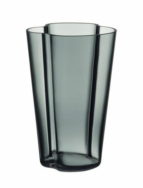 $148.00 Vase  Dark Grey
