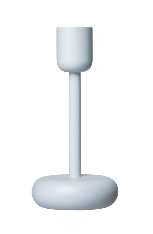 """$40.00 Candleholder 7.25"""" Aqua"""