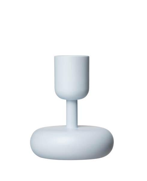 """$36.00 Candleholder 4.25"""" Aqua"""