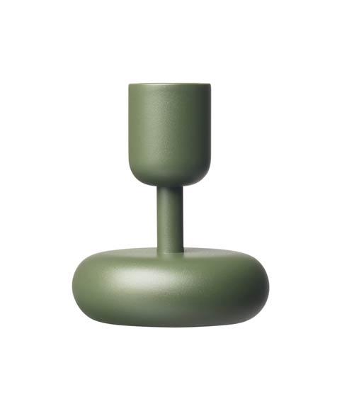 """$36.00 Candleholder 4.25"""" Moss Green"""