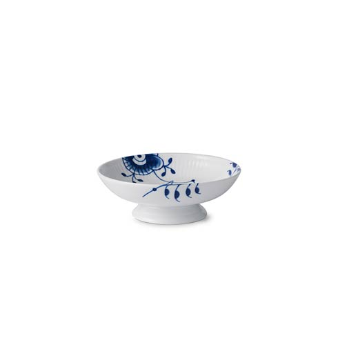 "Royal Copenhagen  Blue Fluted Mega Footed Bowl 6.75"" $163.00"