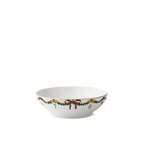Royal Copenhagen  Star Fluted Christmas Serving Bowl $120.00
