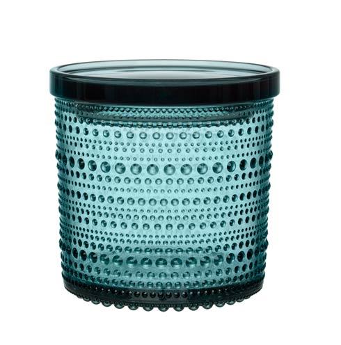 """$45.00 Jar 4.5 X 4.5"""" Sea Blue"""
