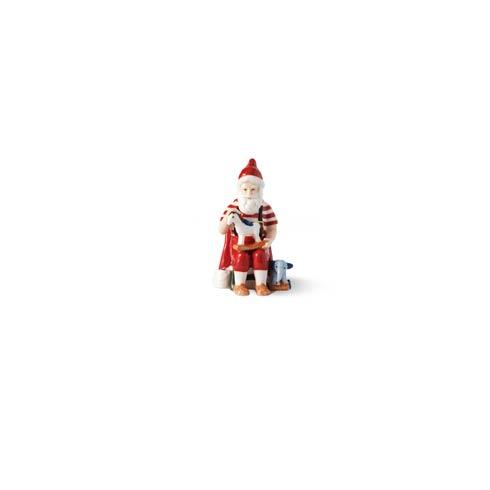 "$90.00 Annual Santa Figurine 4"""