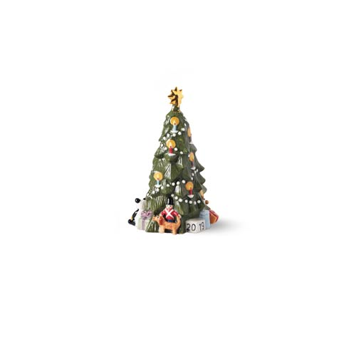 $90.00 Annual Christmas Tree Figurine 5.7""