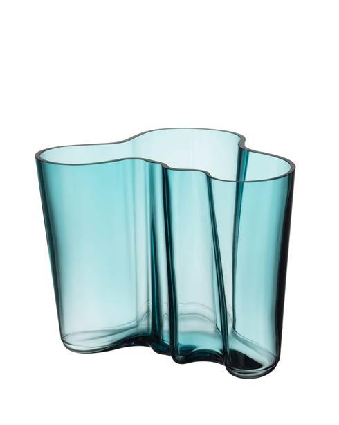 """$168.00 Vase 6.25"""" Sea Blue"""