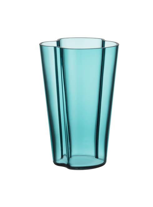 """$148.00 Vase 8.75"""" Seablue"""