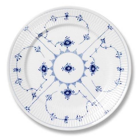 Royal Copenhagen  Blue Fluted Plain Dinner Plate $160.00