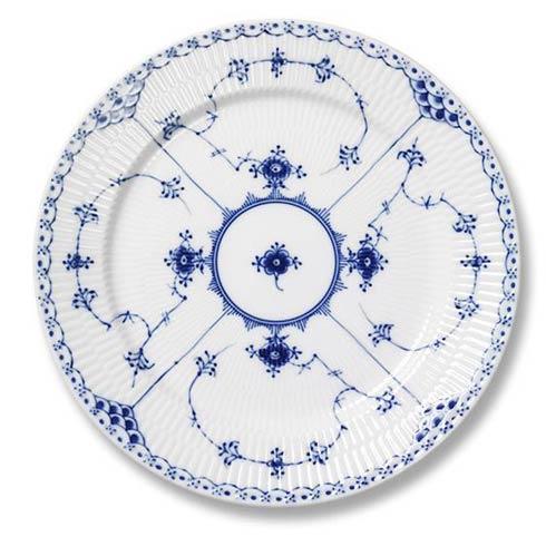 Royal Copenhagen  Blue Fluted Half Lace Dinner Plate $190.00